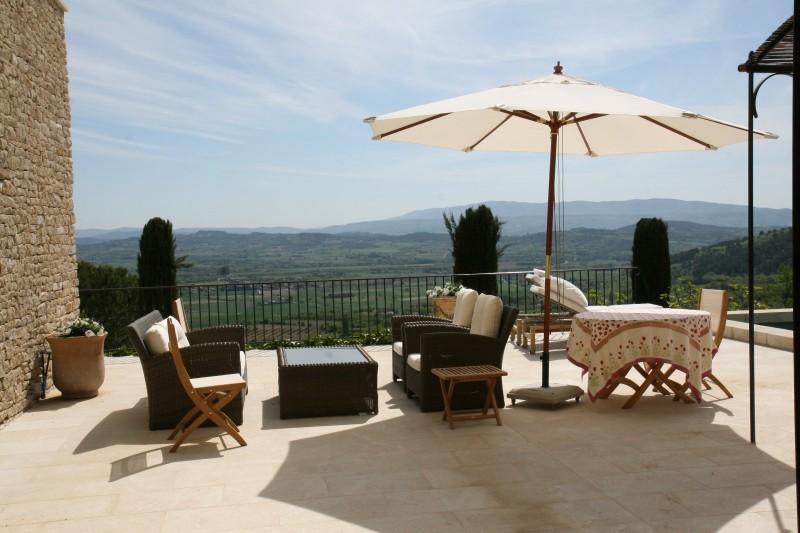 Luberon Location Villa Luxe Leucin Terrasse