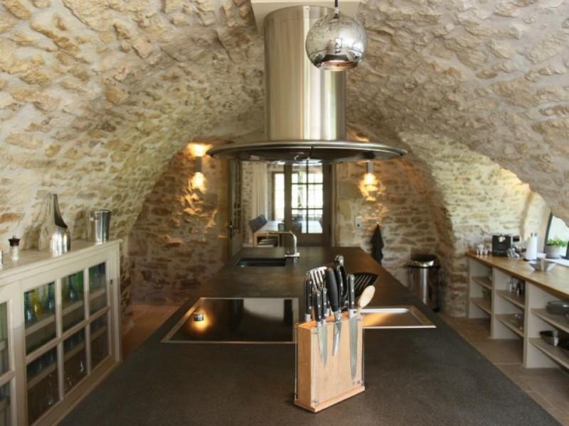 Luberon Luxury Rental Villa Lin Jaune Kitchen