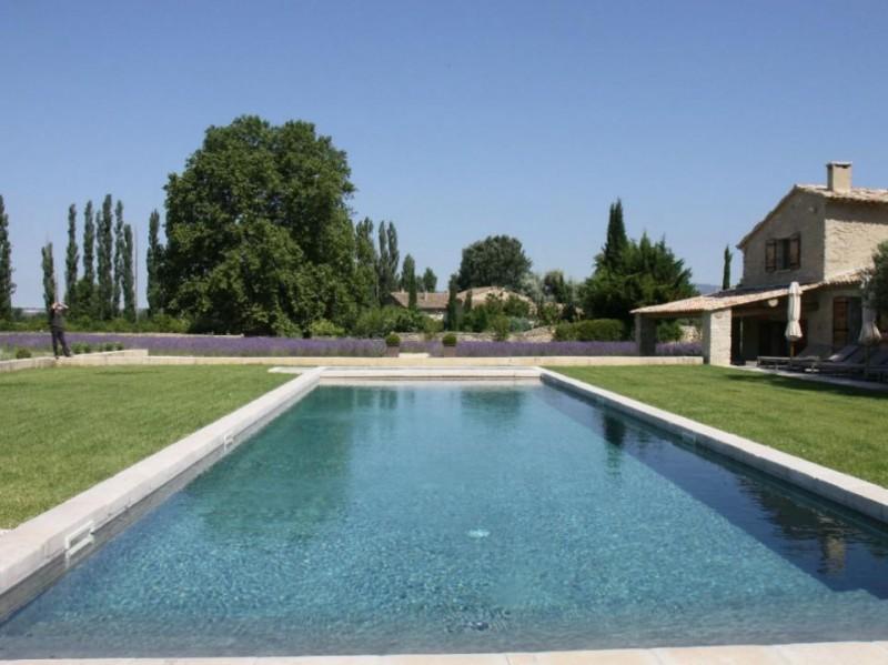 Luberon Luxury Rental Villa Lin Jaune Pool 2