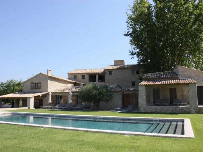 Luberon Luxury Rental Villa Lin Jaune Pool