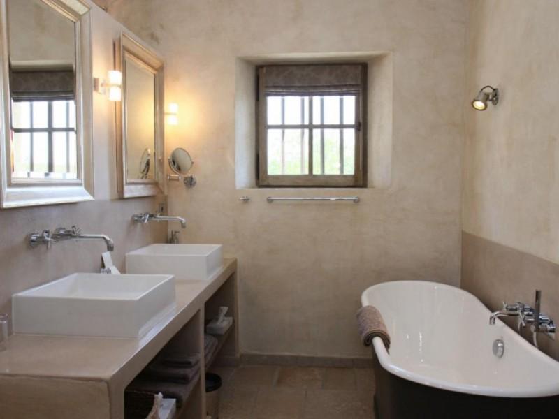 Luberon Luxury Rental Villa Lin Jaune Bathroom 2