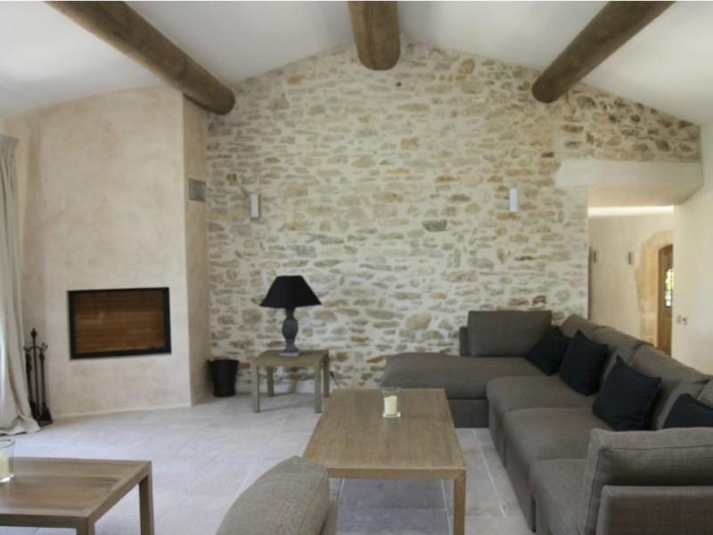 Luberon Luxury Rental Villa Lin Jaune Living Room
