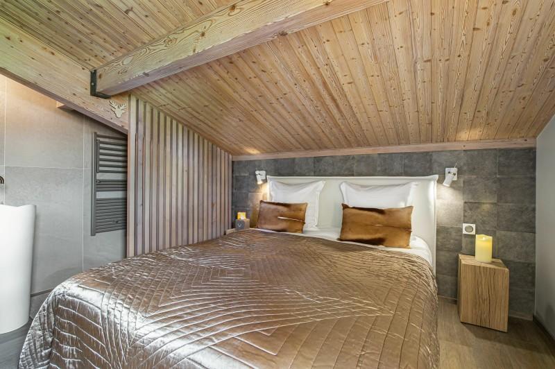 Megève Luxury Rental Appartment Cabrute Bedroom 3