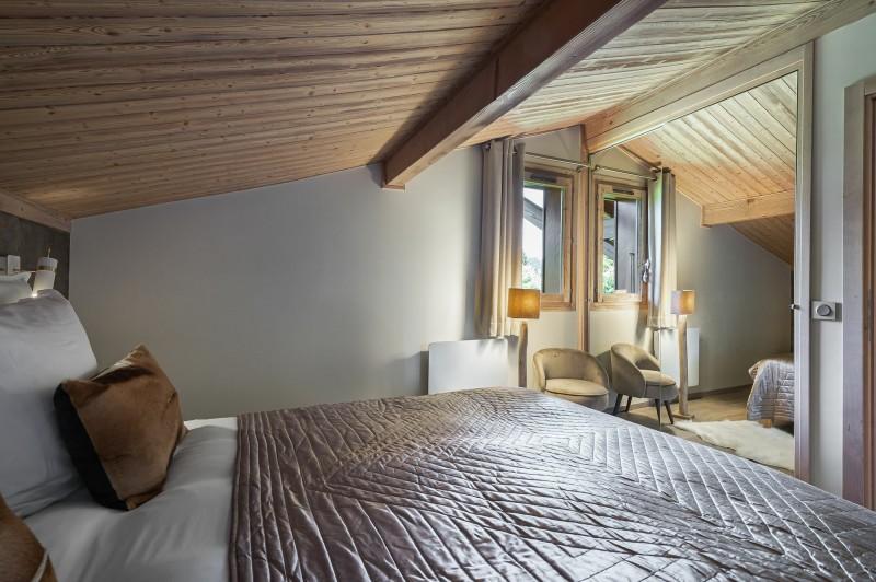 Megève Luxury Rental Appartment Cabrute Bedroom 5