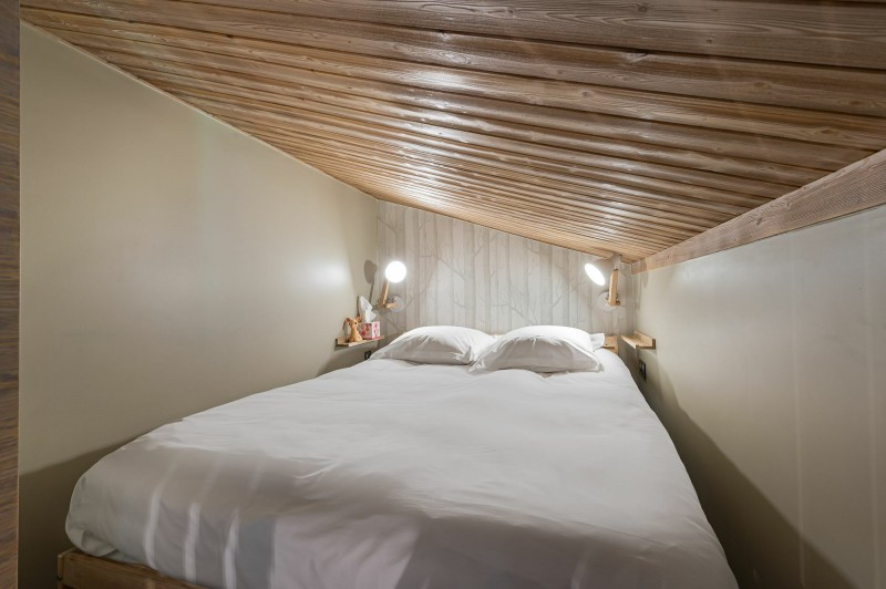 Megève Luxury Rental Appartment Cabrute Bedroom 6