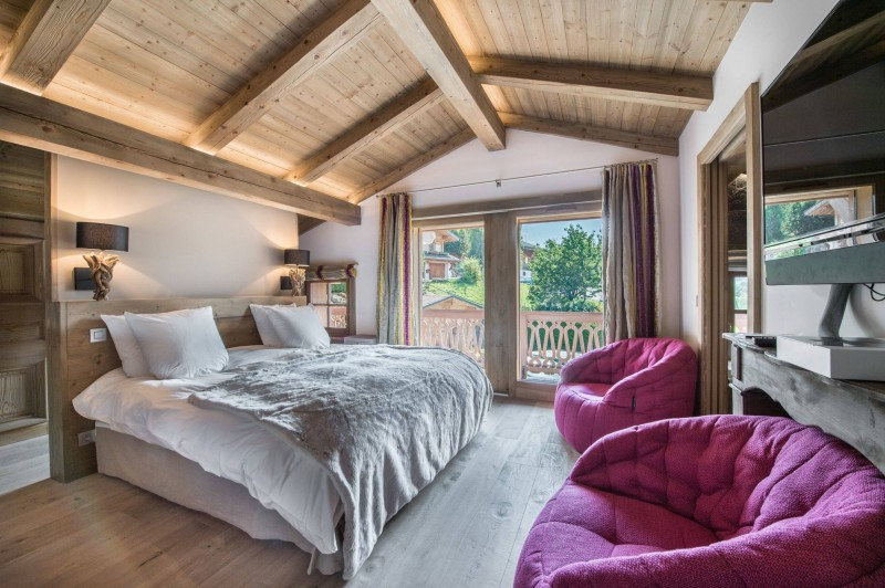 Megève Luxury Rental Chalet Cajolines Bedroom