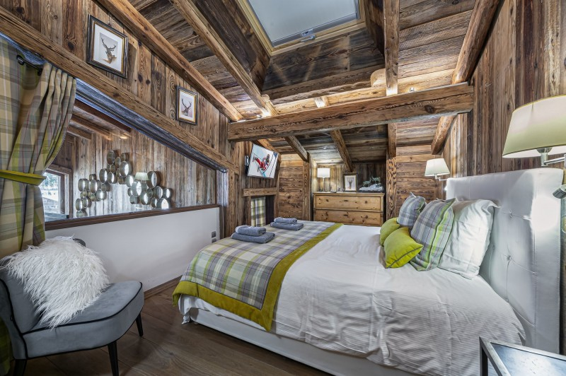 Megève Location Chalet Luxe Cajuelite Chambre 4