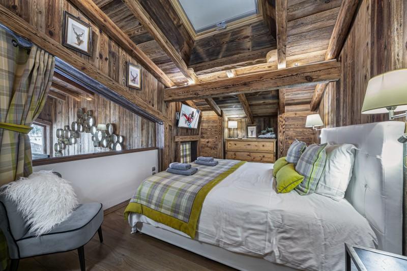 Megève Luxury Rental Chalet Cajuelite Bedroom 4