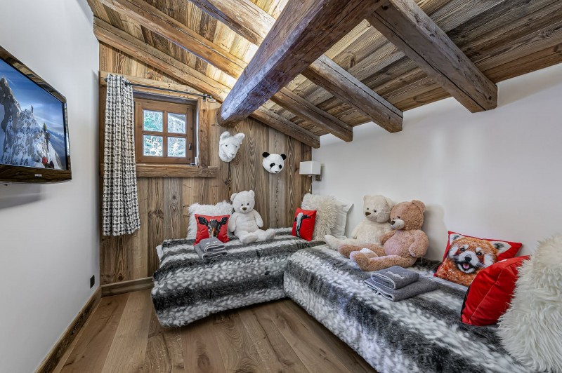 Megève Luxury Rental Chalet Cajuelite Bedroom 5