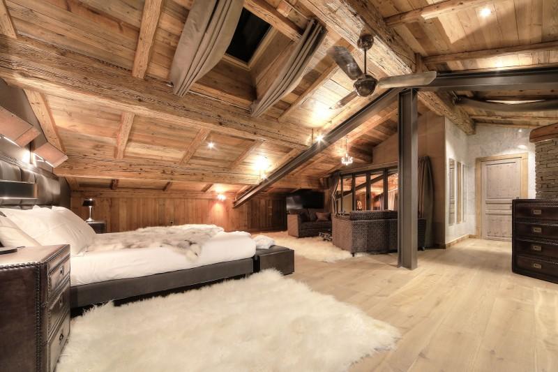 Megève Location Chalet Luxe Diophiris Chambre