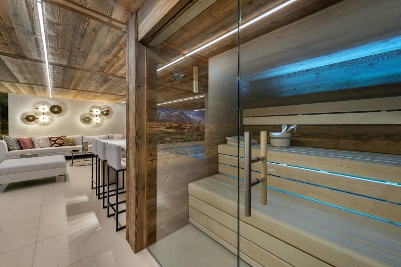 Megève Location Chalet Luxe Safira Sauna