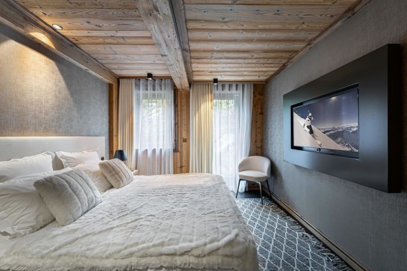 Megève Location Chalet Luxe Safiro Chambre3