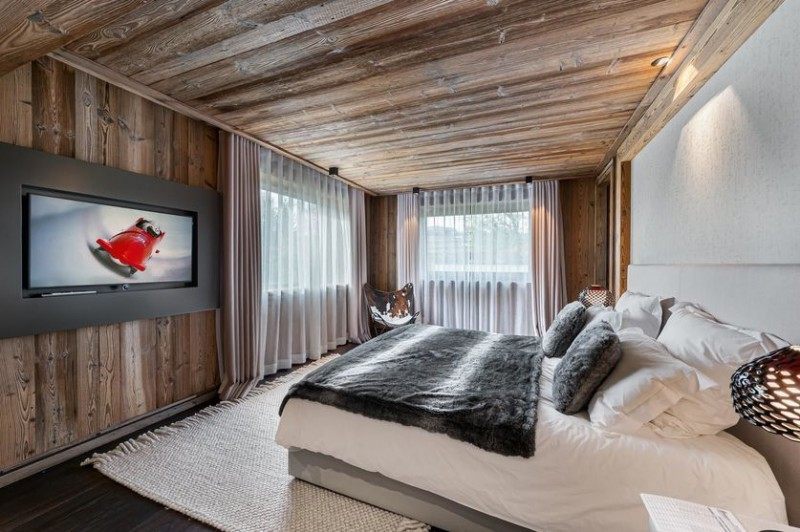 Megève Location Chalet Luxe Safiro Chambre5