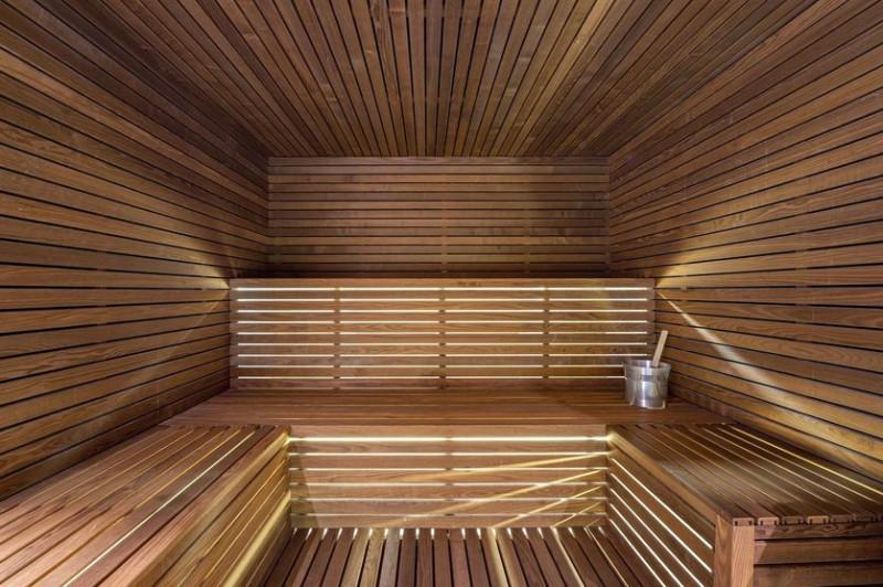 Megève Location Chalet Luxe Safiro Sauna