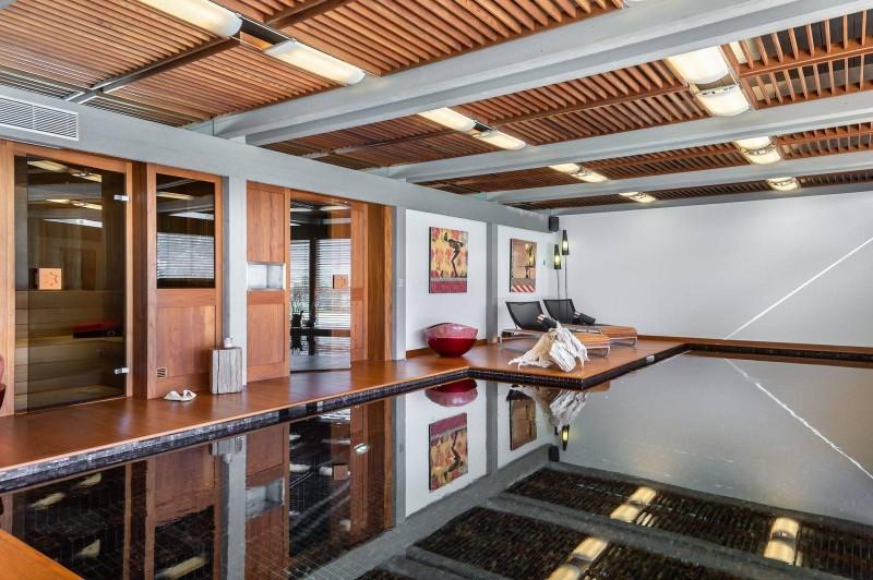 Megève Luxury Rental Chalet Sesamont Swimming Pool
