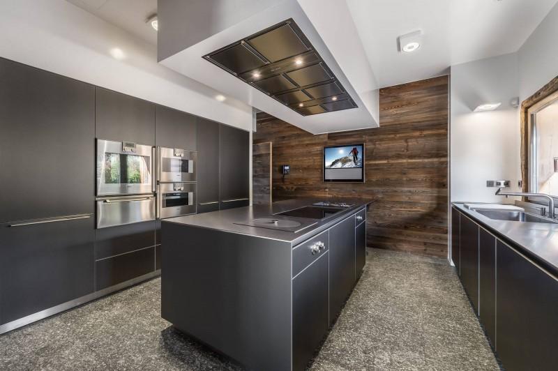 Megève Luxury Rental Chalet Sesanite Kitchen