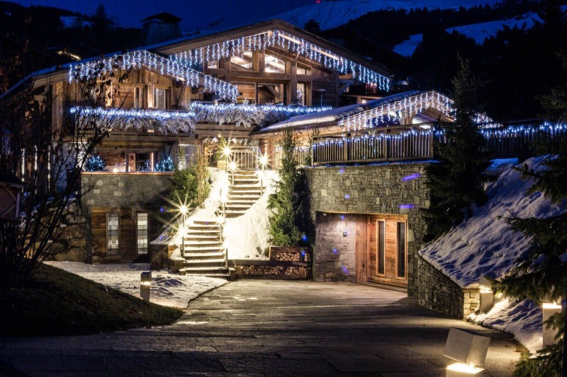 Megève Luxury Rental Chalet Sesanite Exterior