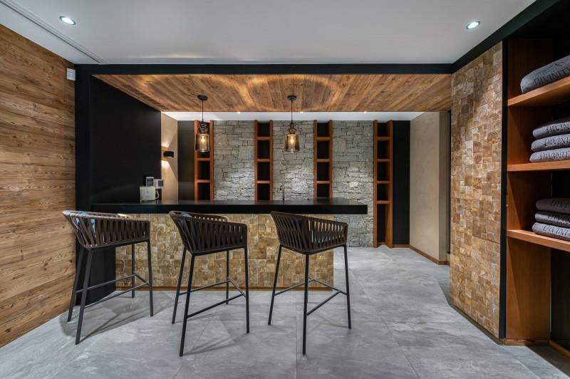 Megève Luxury Rental Chalet Sesanity Bar