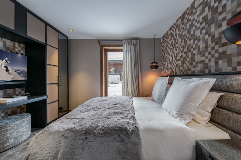 Megève Luxury Rental Chalet Sesanity Bedroom 4