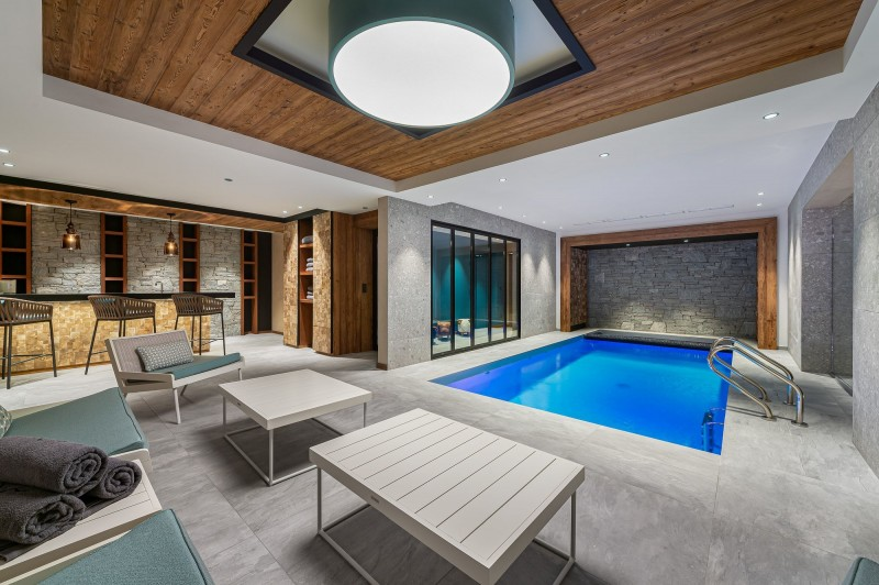 Megève Luxury Rental Chalet Sesanity Swimming Pool