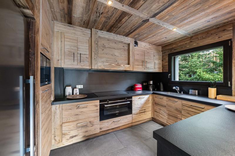 Megève Luxury Rental Chalet Sesune Kitchen