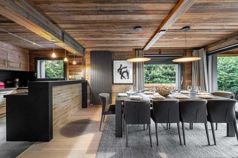 Megève Luxury Rental Chalet Sesune Dining Room 2