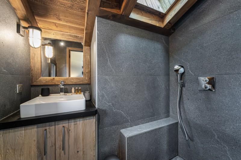 Megève Luxury Rental Chalet Sesune Shower Room 2