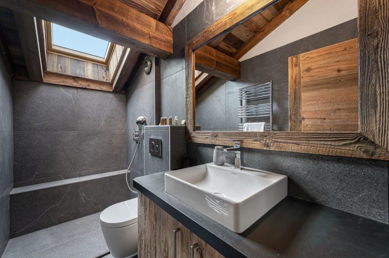 Megève Luxury Rental Chalet Sesune Shower Room 4
