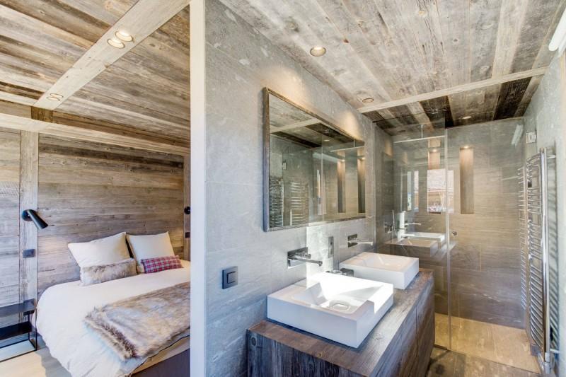 Megève Luxury Rental Chalet Taxo Bedroom