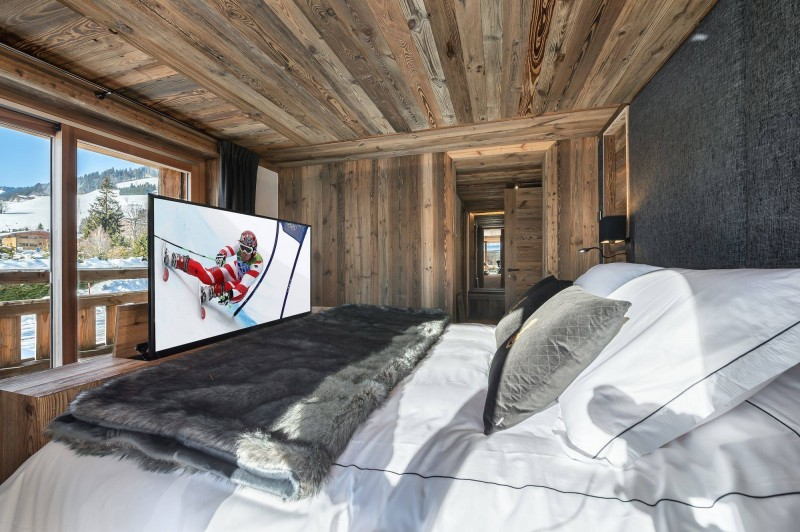 Megève Location Chalet Luxe Taxodoge Chambre 2