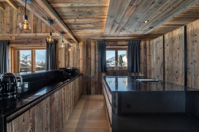 Megève Luxury Rental Chalet Taxodoge Kitchen