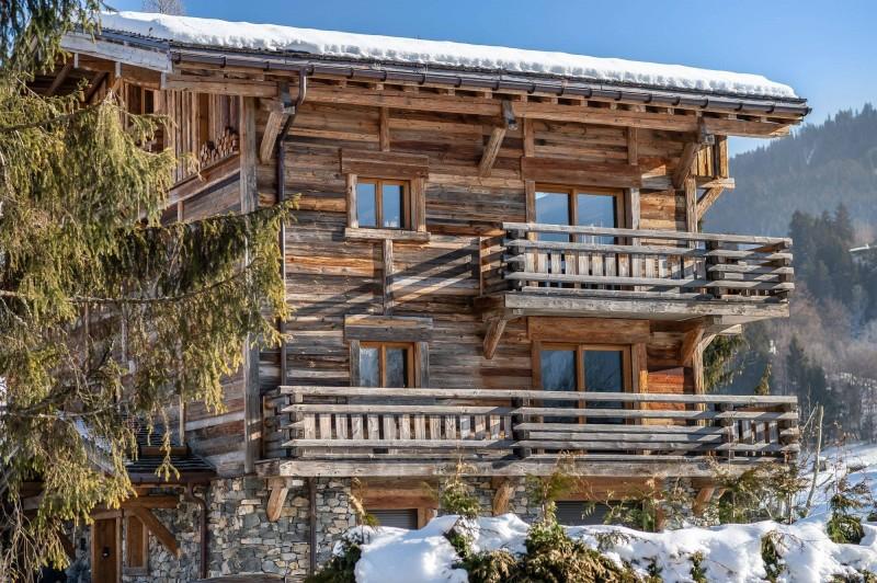 Megève Luxury Rental Chalet Taxodoge Exterior