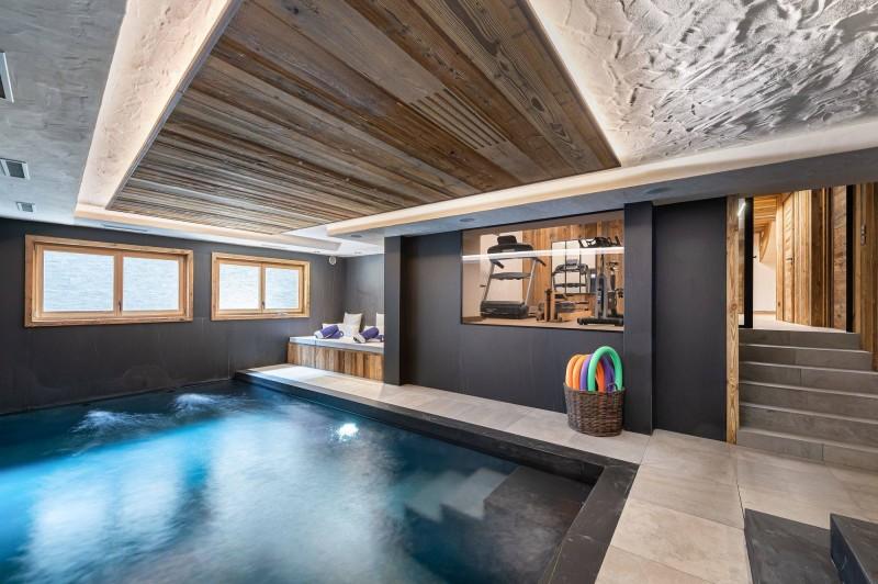 Megève Luxury Rental Chalet Taxodoge Pool 2