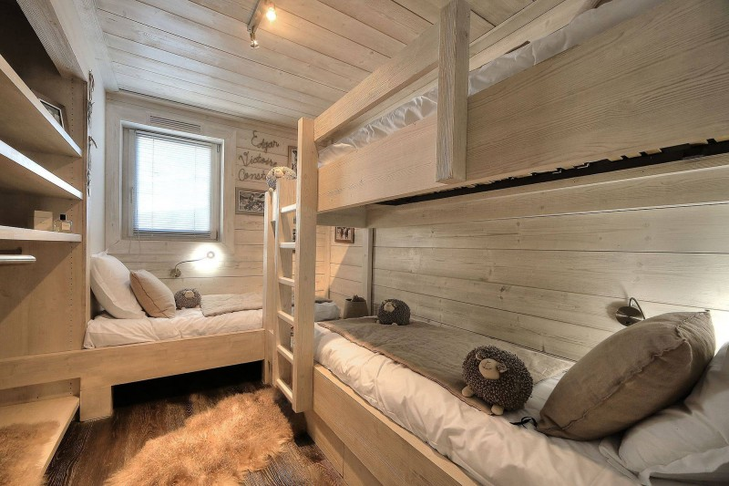 Megève Luxury Rental Chalet Telizite  Bedroom 6