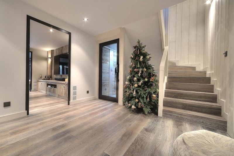 Megève Luxury Rental Chalet Telizite  Stair