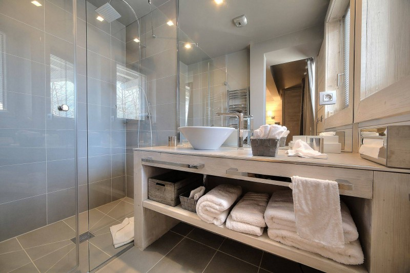 Megève Luxury Rental Chalet Telizite  Bathroom 3