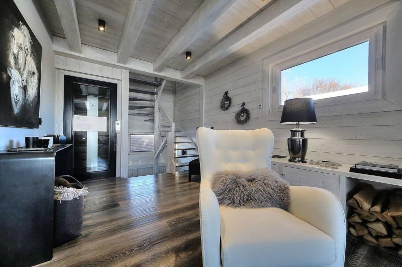 Megève Luxury Rental Chalet Telizite  Living Area 3