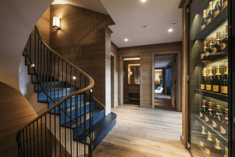 Meribel Location Chalet Luxe Granizite Cave A Vin