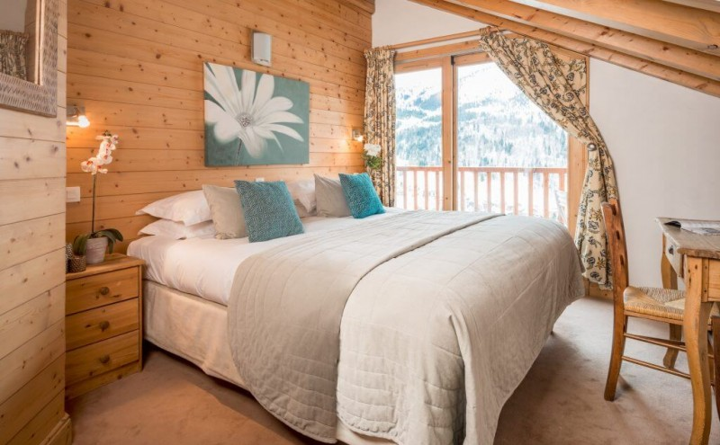 Méribel Location Chalet Luxe Macartite Chambre 1