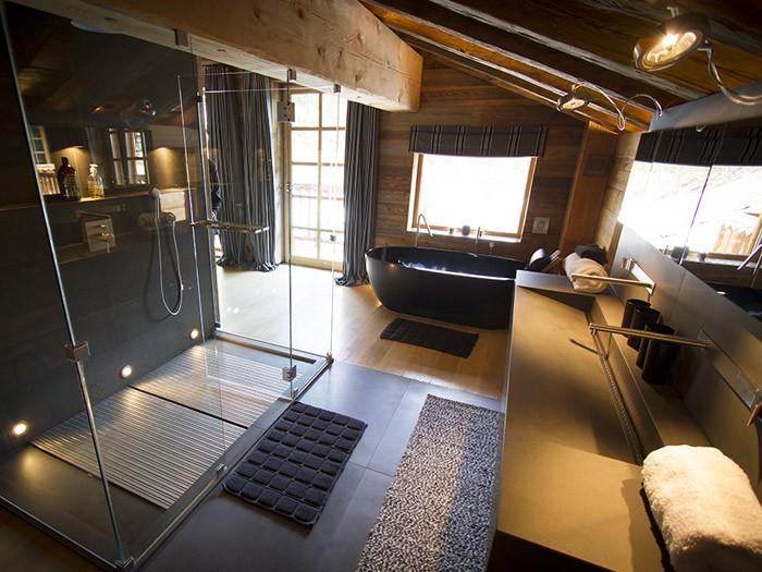 Méribel Luxury Rental Chalet Novaculite Ensuite Bedroom 3