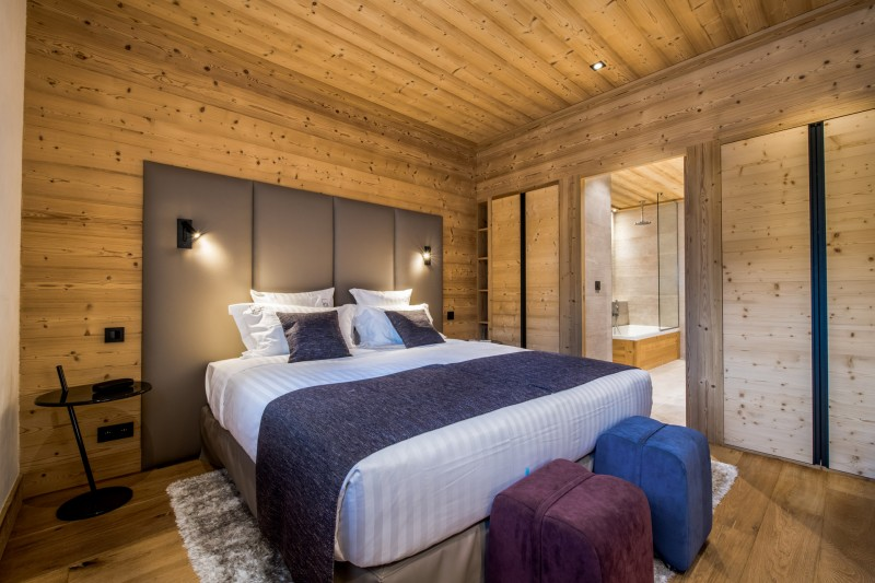 Méribel Location Chalet Luxe Nuolora Chambre 3