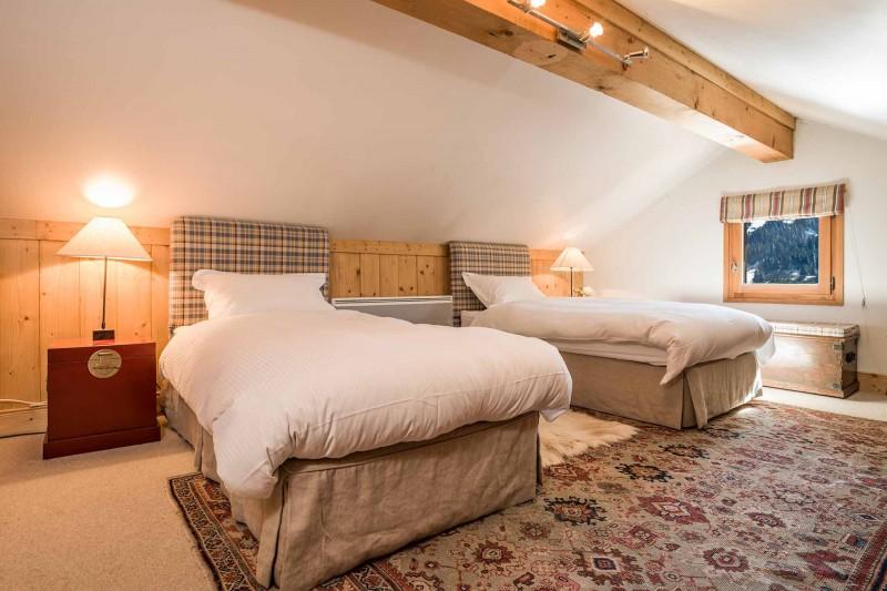 Méribel Luxury Rental Chalet Ulamite Bedroom 7