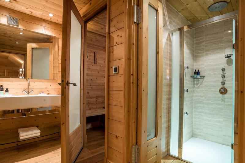 Méribel Luxury Rental Chalet Ulamite Sauna 2