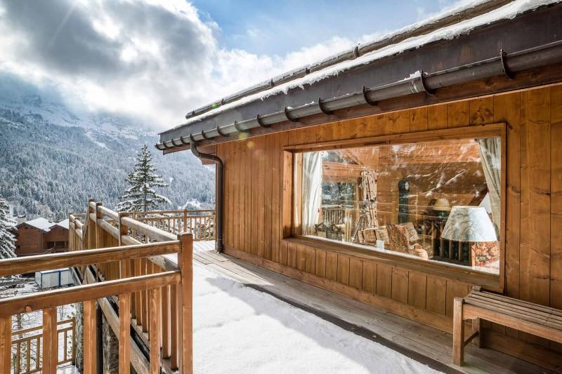 Méribel Luxury Rental Chalet Ulamite Terrace