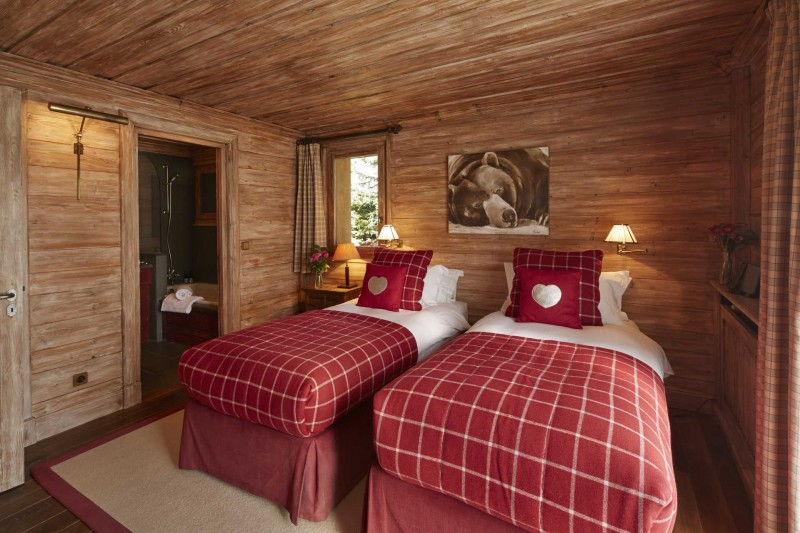 Méribel Location Chalet Luxe Ulomite Chambre 2