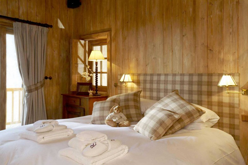 Méribel Location Chalet Luxe Ulomite Chambre