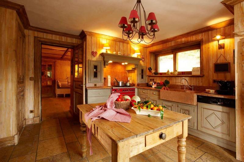 Méribel Location Chalet Luxe Ulomite Cuisine