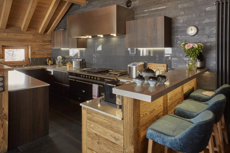 Méribel Luxury Rental Chalet Ulumite Kitchen