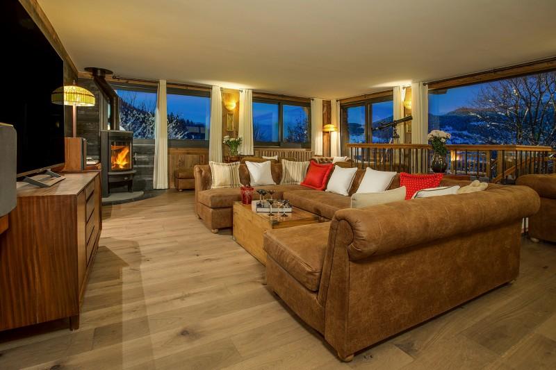 Méribel Luxury Rental Chalet Ulumite Living Room 2