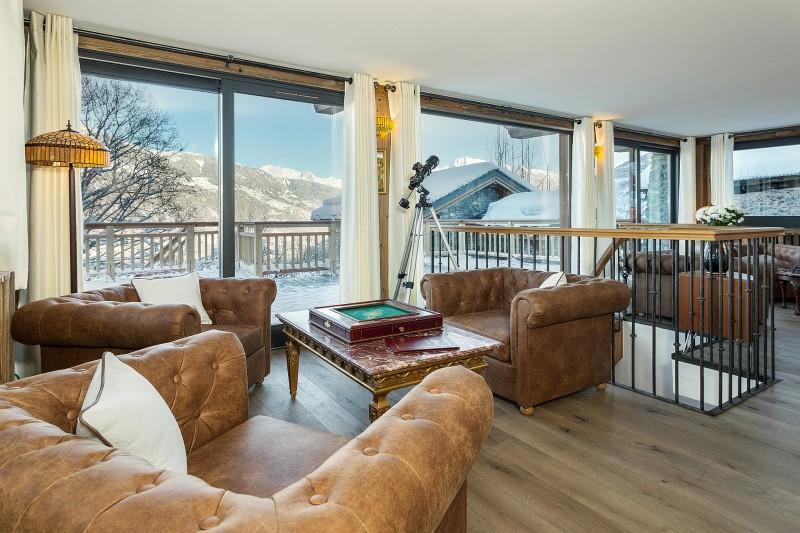 Méribel Luxury Rental Chalet Ulumite Living Room 3